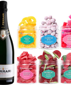 Ferrari Brut and Candy Club - Wine Collection Gift