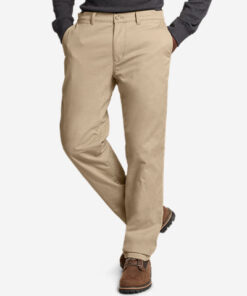 Men's Flex Fleece-Lined Chinos - Slim
