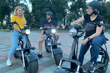 Sunset E-Scooter Tour