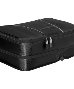 eBags Classic Medium Compression Cube Black - eBags Travel Organizers