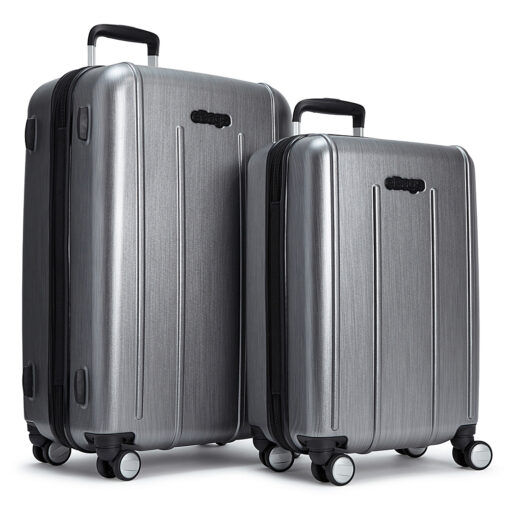 eBags EXO 2pc Spinner Brushed Graphite - eBags Luggage Sets