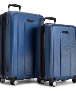 eBags EXO 2pc Spinner Metallic Blue - eBags Luggage Sets