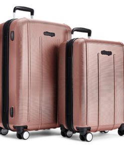 eBags EXO 2pc Spinner Rose Gold - eBags Luggage Sets