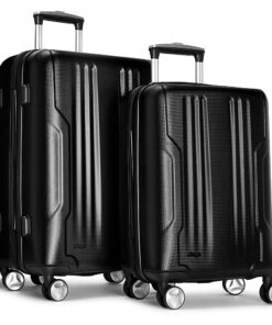 eBags Monument 2pc Spinner Black - eBags Luggage Sets