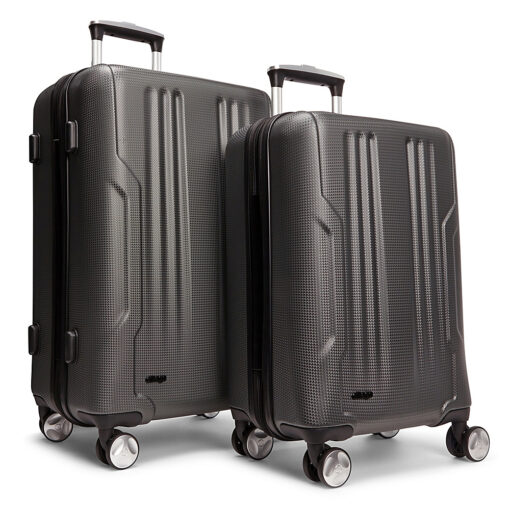 eBags Monument 2pc Spinner Charcoal - eBags Luggage Sets