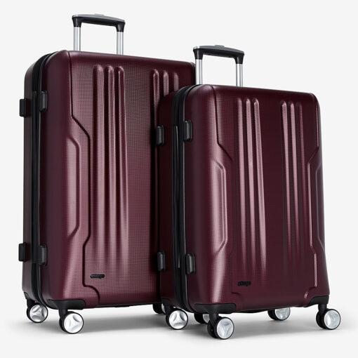 eBags Monument 2pc Spinner Merlot - eBags Luggage Sets