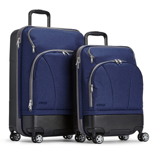 eBags Mother Lode 2pc Spinner Brushed Indigo - eBags Luggage Sets
