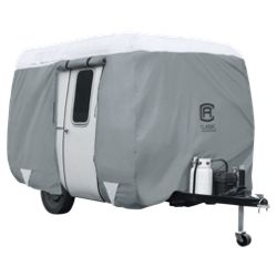 Classic Accessories OverDrive PolyPRO 3 Molded Fiberglass Travel Trailer Cover - Model 1