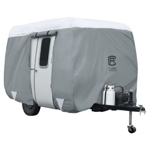 Classic Accessories OverDrive PolyPRO 3 Molded Fiberglass Travel Trailer Cover - Model 2