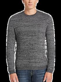 JOE Joseph Abboud Charcoal Crew Neck Sweater
