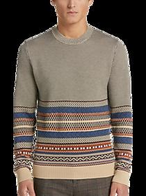 Paisley & Gray Sweater Gray Multistripe