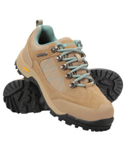 Storm Womens Waterproof Iso-Grip Shoes - Beige