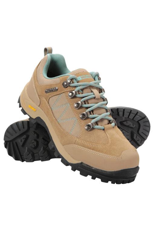 Storm Womens Waterproof Iso-Grip Shoes - Beige