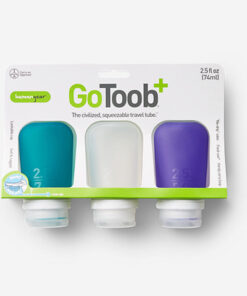 humangear GoToob+ 2.5 fl. oz. 3-Pack