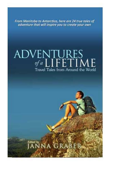 Adventures of a Lifetime travel book