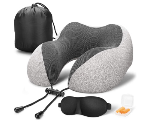 MVLOC Travel Pillow and accessories