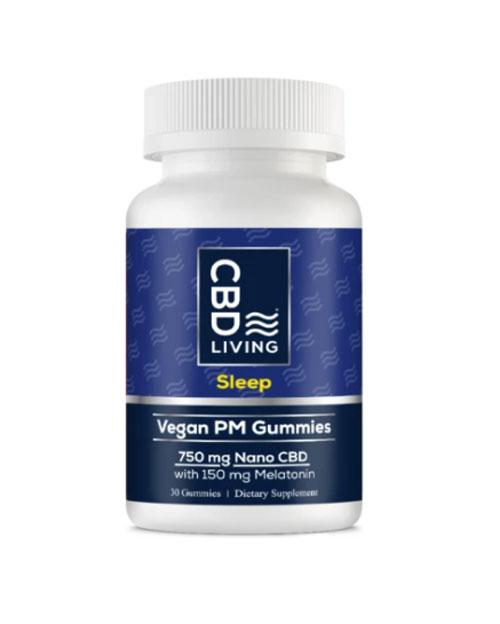 CBD Living Vegan Sleep Gummies