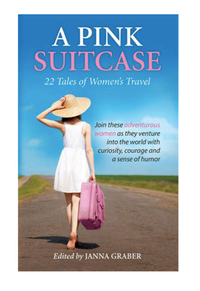 A Pink Suitcase Travel Book