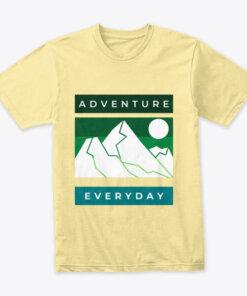 Adventure everyday men's travel t-shirt