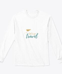 Let's Go Travel Long Sleeve Tee