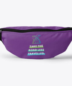 Take the road travel fanny pack