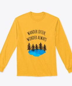 Wander often long sleeve shirt