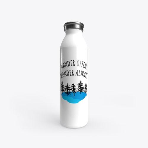 Wander wonder stainless water bottle
