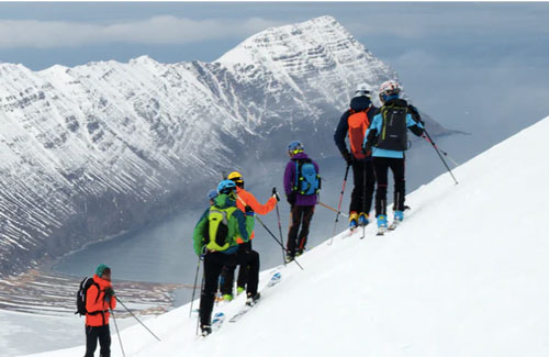 Skiing Trip in Iceland