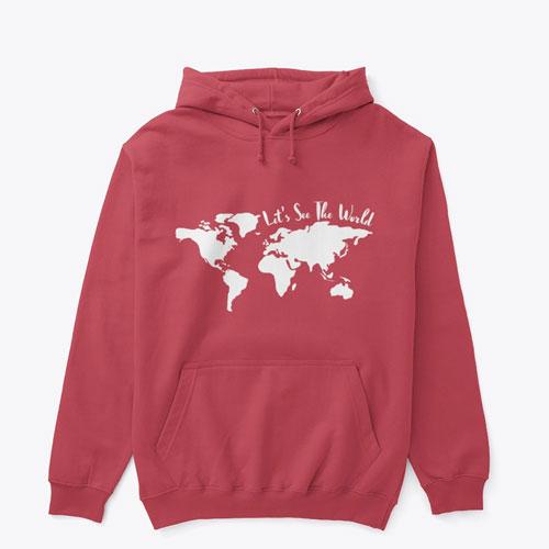 See the World Hoodie