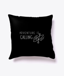 Adventure is Calling Travel Pillow